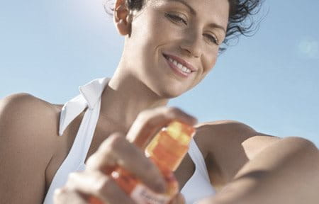 Using a broad-spectrum sunscreen can help prevent dark spots.