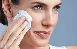 Use Eucerin Cleansing Milk
