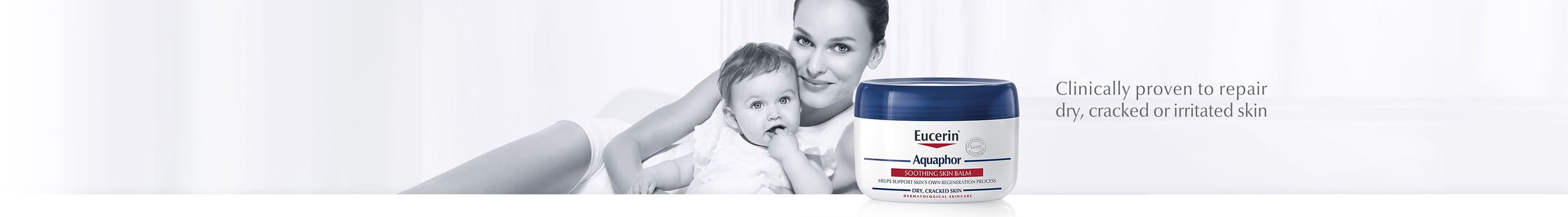 Aquaphor soothing skin balm for dry, cracked or irritated skin