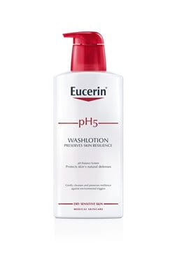 Eucerin pH5 Skin-Protection Washlotion | Cleansing for sensitive and